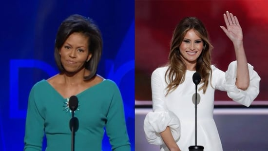 Melania Trump Plagiarized Part of Her RNC Speech From Michelle Obama