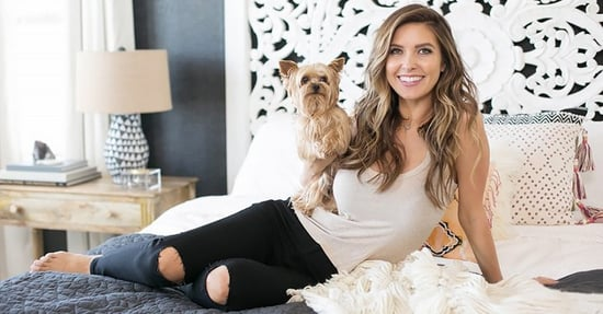 "Attention, ""The Hills"" Fans: Inside Audrina Patridge's Boho Bedroom"