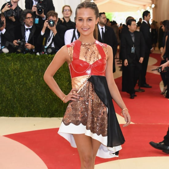 Alicia Vikander's Louis Vuitton Dress at Met Gala 2016