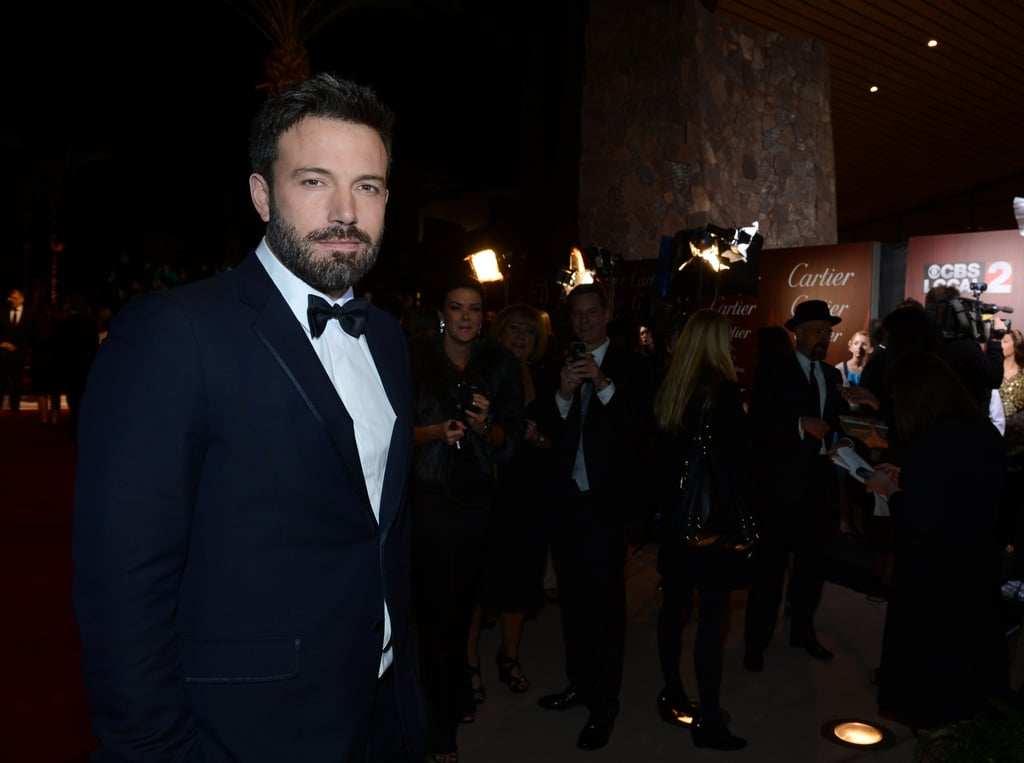 Ben Affleck made his way to the event.
