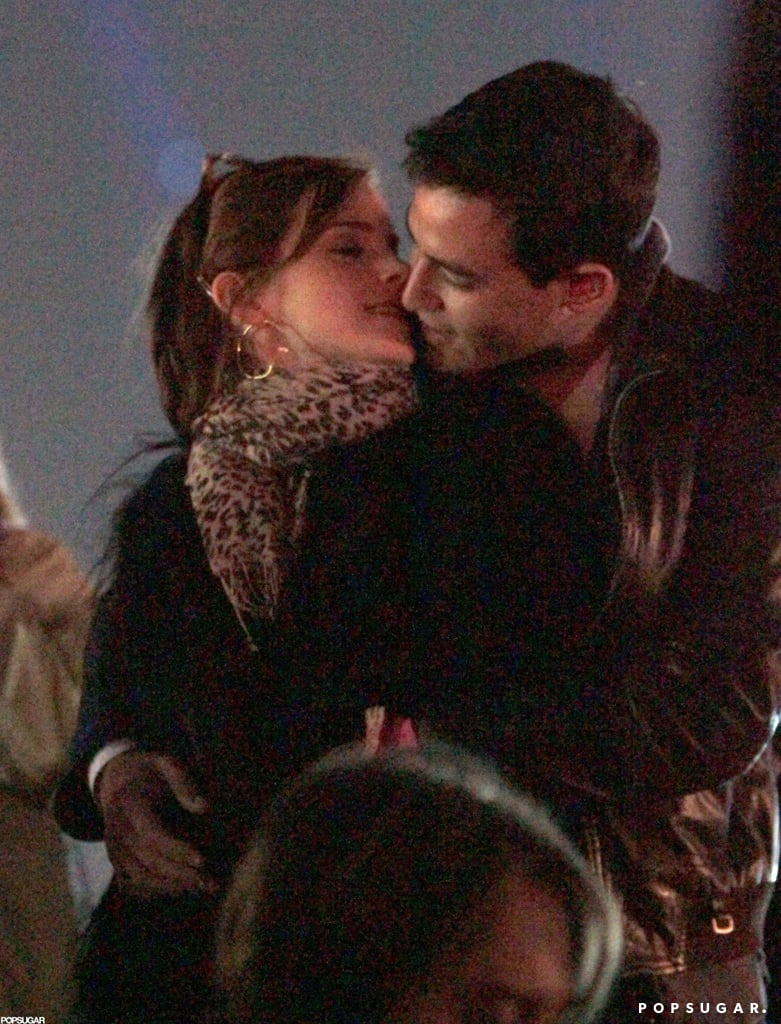 Emma Watson was spotted sneaking a sweet kiss with her then-new boyfriend, Will Adamowicz, while they watched a performance at Coachella Music Festival back in April. Although Emma had perviously dated rock star George Craig, Will is just a normal student. The two lovebirds first met while studying at Oxford University after they both had transferred from Brown.  — Maria Mercedes Lara, associate editor