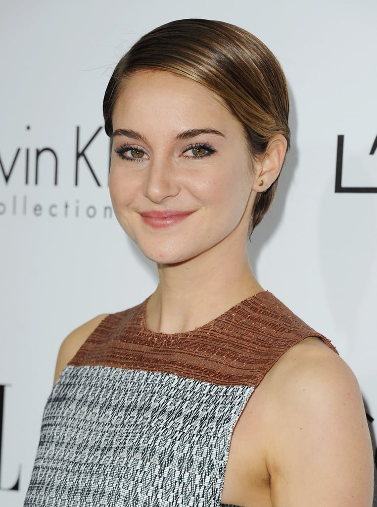 How incredible does Shailene Woodley's '60s-inspired pixie cut look? Her sleek style makes her look like a modern-day Twiggy.