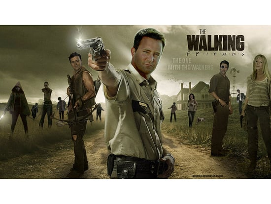 See the Casts of Friends, Frozen, Mad Men and More Join The Walking Dead