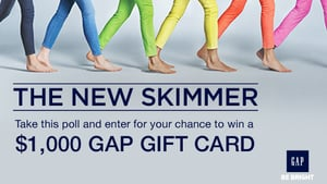Take Your Wardrobe to New Lengths With Spring Styles and a Chance to Win $1,000 From Gap