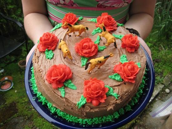 Savory Sight: Beautiful Kentucky Derby Cake