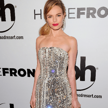 Kate Bosworth in Silver Dress at Homefront Premiere