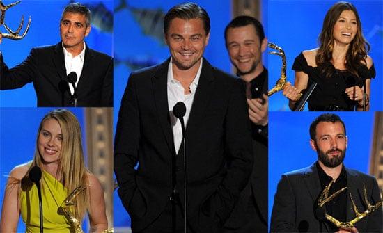 Photos of Sandra Bullock, Leonardo Dicaprio, Ben Affleck and Scarlett Johansson at the 2010 Spike Guys Choice Awards 2010-06-06 16:45:01