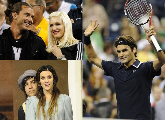 Cameron Diaz, Gwen Stefani, Gavin Rossdale, Ashlee Simpson and More Watch Roger Federer at US Open