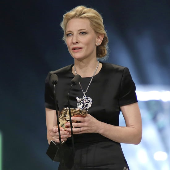 Cate Blanchett Honors Philip Seymour Hoffman at BAFTAs