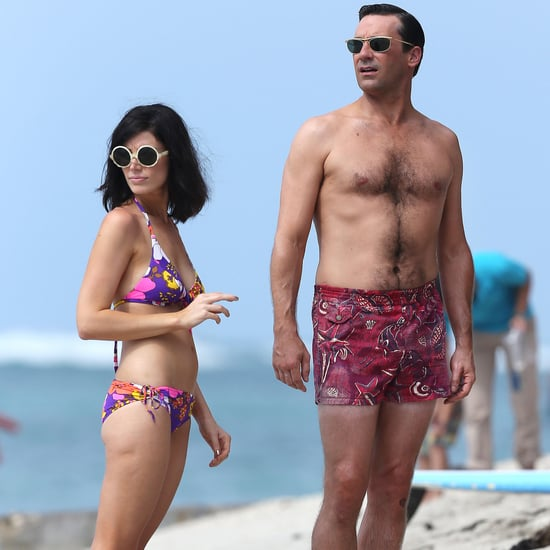 Shirtless Jon Hamm Shoots Mad Men | Pictures