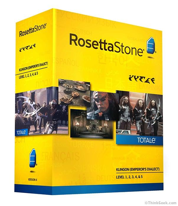 Rosetta Stone For Klingon