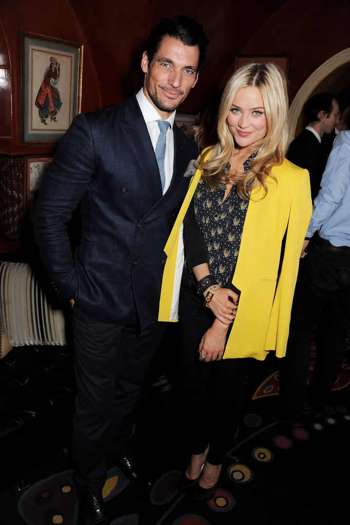 David Gandy and Laura Whitmore