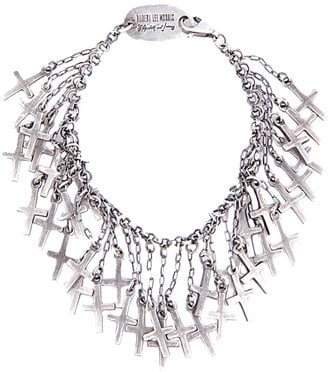 The Look For Less: Elizabeth and James Cross Charm Bracelet