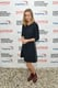 Brie Larson arrived for the Hamptons International Film Festival in a navy Chloé dress.