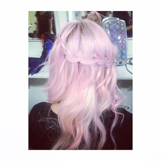 Pink Waterfall Braid