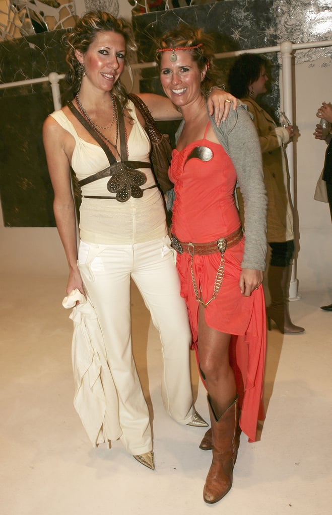 Sarah-Jane Clarke and Heidi Middleton at Sass and Bide's Sydney Store Launch in 2004