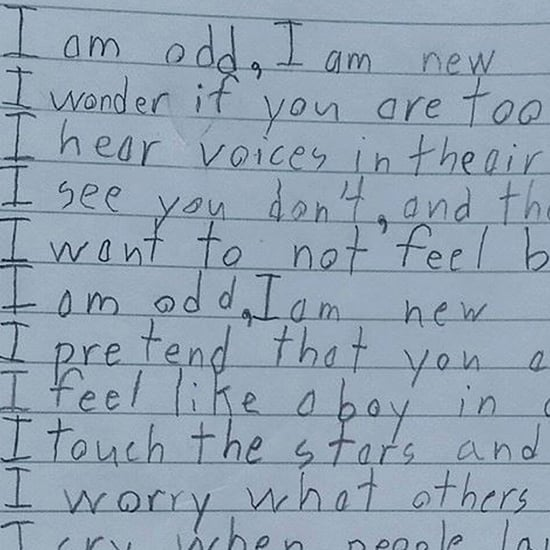 "Little Boy With Autism's ""I Am New"" Poem"