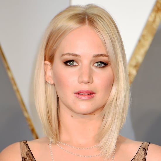 Jennifer Lawrence's Hair and Makeup at the 2016 Oscars