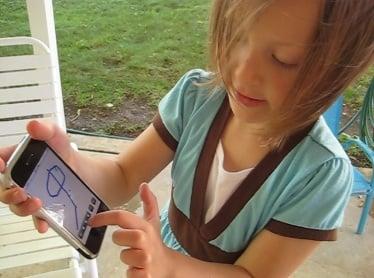 Kid Friendly iPhone App: Scribble