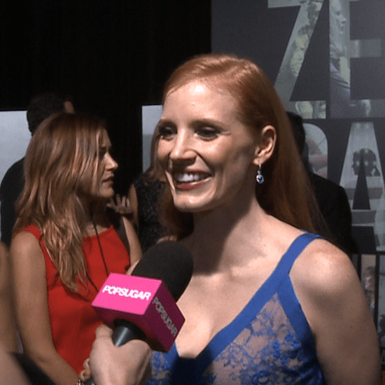 Jessica Chastain at Zero Dark Thirty Premiere (Video)