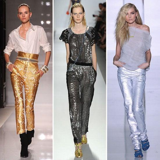Spring 2012 Colour Report: Bold Metallics