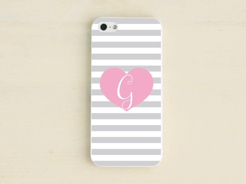 Monogrammed heart iPhone case ($17)