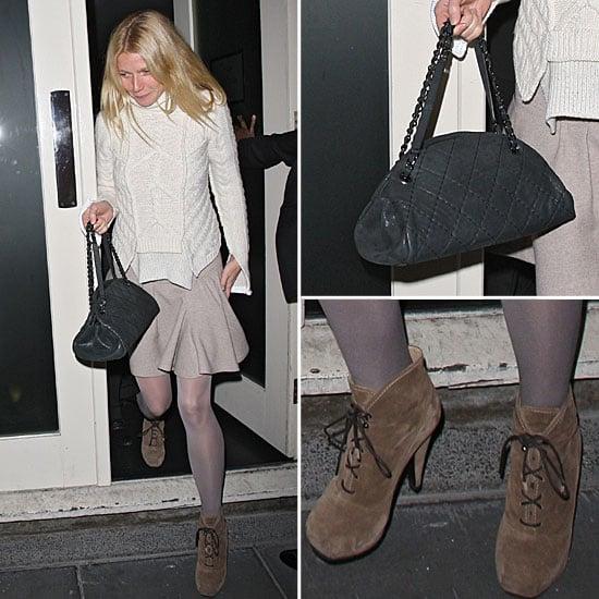 Gwyneth Paltrow in Proenza Schouler Booties