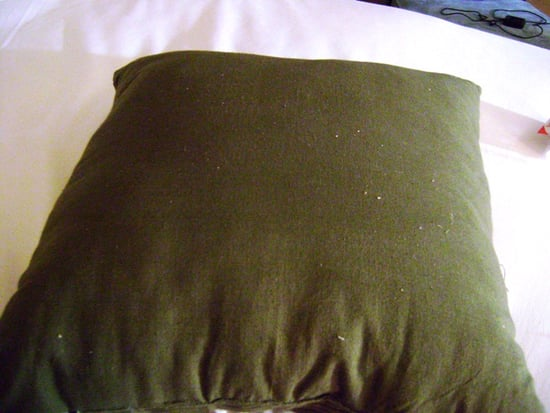 Before and After: Danny Seo's Safety Pin Pillow