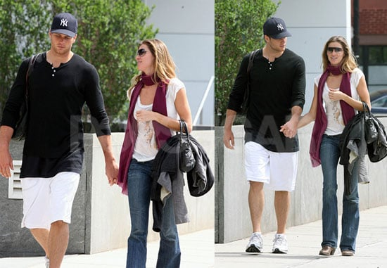 Tom & Gisele Take Their Purses for a Stroll