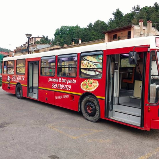 Pizza Restaurant Bus in Italy