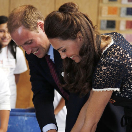 Prince William and Kate Middleton Painting at Inner City Arts 2011-07-10 15:10:33