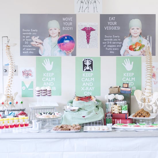 Surgery-Themed Birthday Party