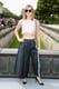 Jennifer Lawrence in Dior Crop Top