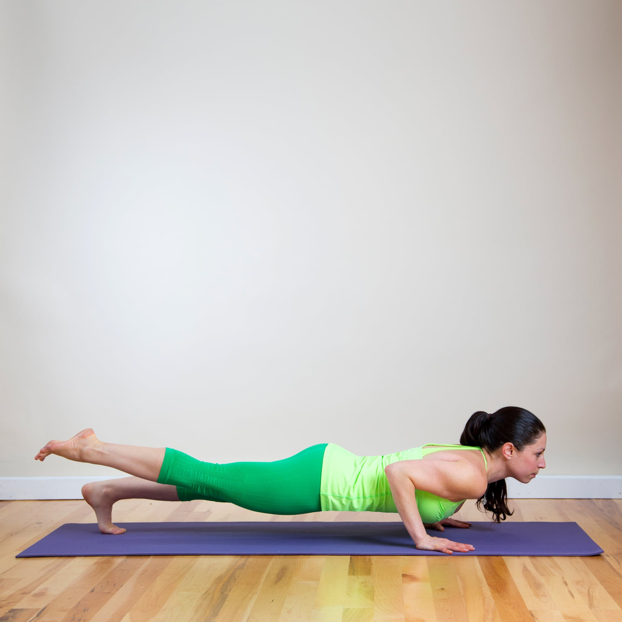 Your Shoulders in Chaturanga