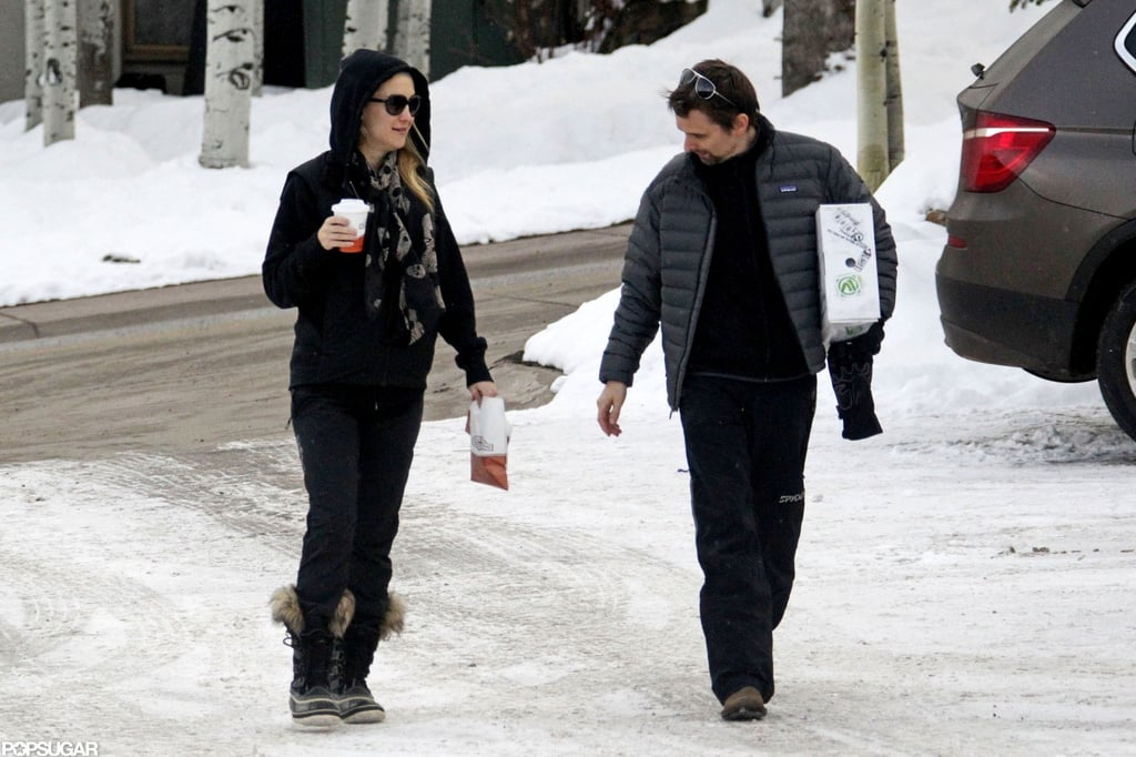 Kate Hudson and Matthew Bellamy went to get coffee.
