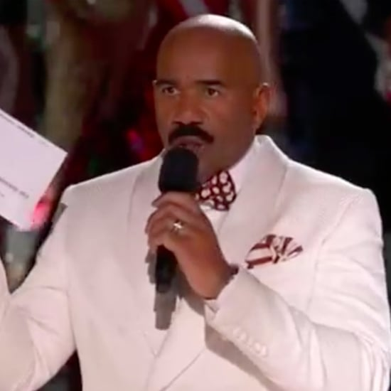Steve Harvey Crowns the Wrong Miss Universe   Video