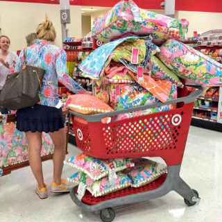 Lilly Pulitzer For Target Shopping | Social Media