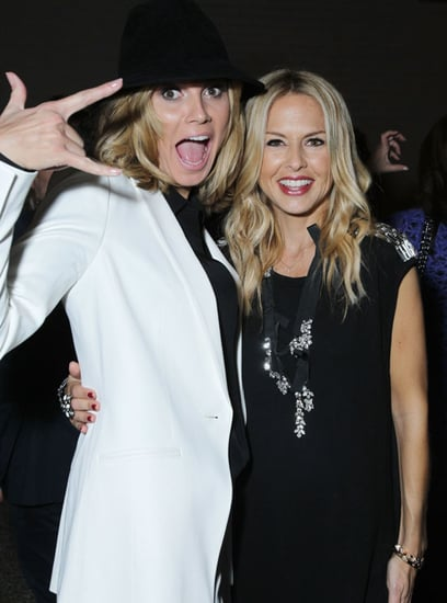 Pictures of Heidi Klum, Rachel Zoe, and Debra Messing at a Holiday Dinner in LA