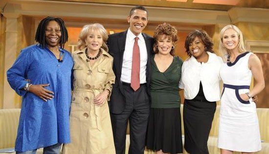 Barack Obama Appears on The View