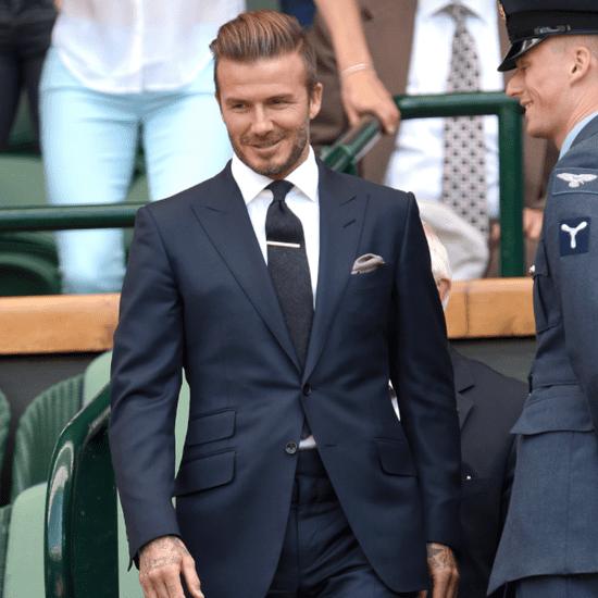 David Beckham's Sexiest Outfits