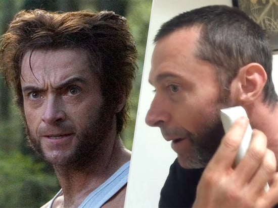 Goodbye, Wolverine! Watch Hugh Jackman Shave Off His Trusty Chops