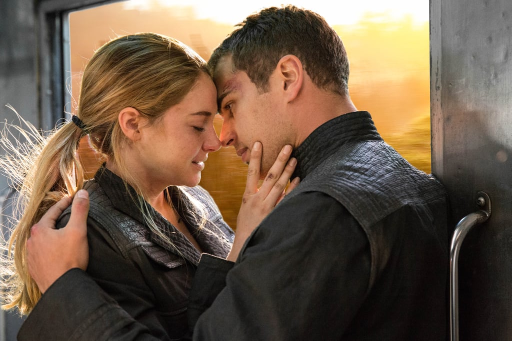 Tris + Four = sexy in black leather.