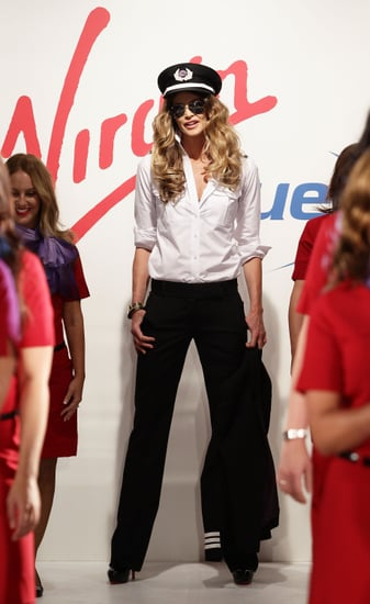 Photos of Elle Macpherson and Dannii Minogue at Virgin Blue Launch