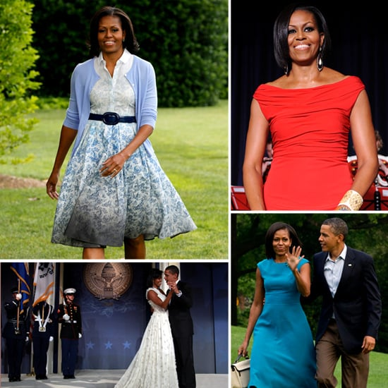 Check Out Michelle Obama's Most Stylish Looks to Celebrate Independence Day 2012