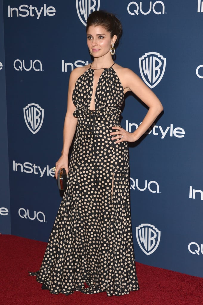 Shiri Appleby made a gorgeous arrival.