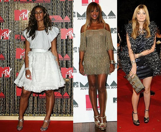 Leona Lewis, Eve and Mischa Barton at MTV Australia Awards