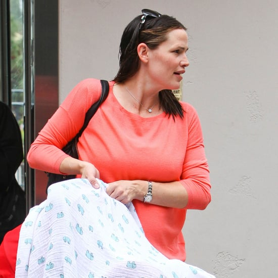 Jennifer Garner With Baby Samuel For First Time Pictures