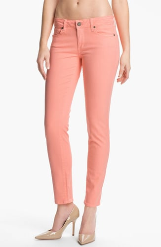 Paige 'Skyline' Skinny Stretch Ankle Jeans (Flamingo)