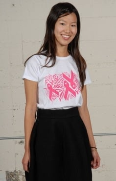 Fabworthy: Tobi Exclusive Paper Cut Cut Tee Benefitting Breast Cancer Awareness