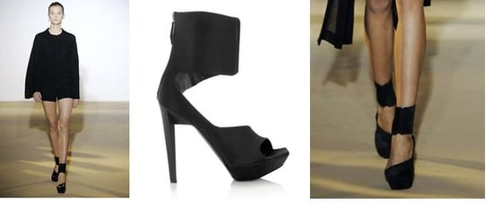 From Runway To Reality: Jil Sander Asymmetrical Platforms
